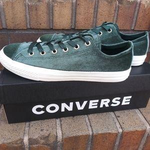🆕Converse | CTAS OX Low Emerald Green 6Y